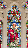 A stained glass window stock photo