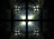 Stained Glass Window. Illustration,abstract, high detail Stock Photos
