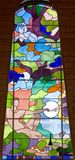 Stained-glass Window 67 Royalty Free Stock Images