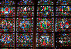 Stained-glass window Stock Photos