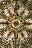 Stained Glass Window. Skylight stock images