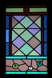 Stained Glass Window. Circa 1880 royalty free stock image