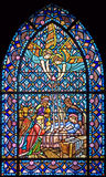 Stained-glass window 96 Stock Image