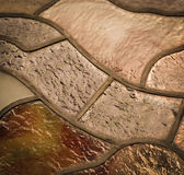 Stained glass window. Abstract background detail of the stained glass window Stock Image