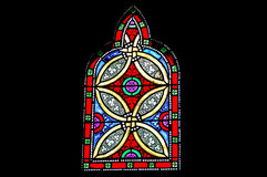 Stained-glass window in Canadian Parliament Building Stock Images