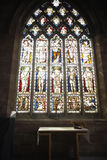 Stained Glass Window In Church Royalty Free Stock Image