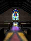 Stained Glass Window Church Royalty Free Stock Photo