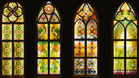Free Stained Glass Window,colorful Glass Window, Stock Images - 48246554