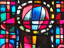 Stained glass window detail Stock Photos