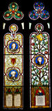 A stained glass Royalty Free Stock Photography