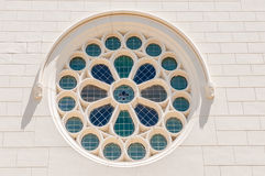 Stained glass window, Dutch Reformed Church, Noorder-Paarl Royalty Free Stock Image