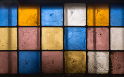 Stained glass stock photo
