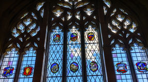Stained Glass Window Law Library Yale University New Haven Conneticut Royalty Free Stock Image