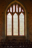 Stained glass window  - Livingstonia Mission Church Royalty Free Stock Photos