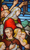 Stained glass window, Stock Photography