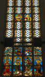 Nativ scene Stained Glass Window, Munich Royalty Free Stock Photos