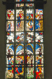 Stained Glass Window, Munich Stock Image