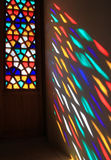 Stained-glass window Stock Images