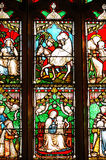 Stained Glass Window Panels Stock Photography