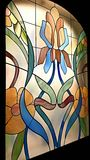 Stained glass window. Royalty Free Stock Photo