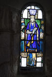 Stained glass window - Queen's chapel Stock Images
