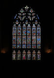 Stained Glass Window, Quimper, Brittany. Royalty Free Stock Photography