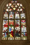 Stained-glass window. Royalty Free Stock Photo
