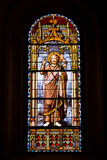 Stained Glass Window in San Jeronimo el Real Royalty Free Stock Image