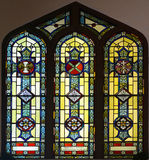 Stained Glass Window of St Paul's Episcopal Church Royalty Free Stock Image