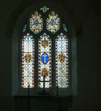 Stained glass window. Stock Photography
