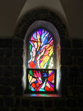 Stained glass window Royalty Free Stock Images