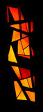 Stained glass window (Vertical) Royalty Free Stock Photos