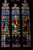 Stained glass windows. Royalty Free Stock Images