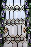 Stained glass windows bedding colors Stock Images