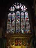 Stained Glass windows in Burnley Lancashire Stock Photo