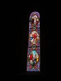 Stained glass windows Stock Photography