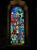 Stained Glass Windows at Galway Cathedral Ireland. Stained glass windows at Galway cathedral, County Clare Ireland Royalty Free Stock Photography