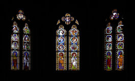 Stained glass windows Royalty Free Stock Photography