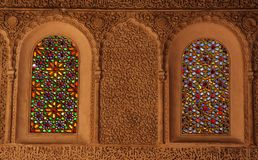 Stained Glass Windows Stock Photo