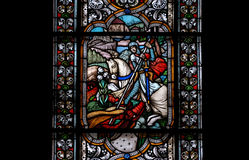 Stained-glassfenster Stockbild
