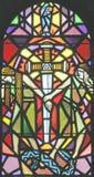 Stained-glassfenster 51 Lizenzfreies Stockbild