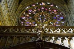 Stained-glassfenster 4 Stockfotografie