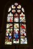 Stained-glassfenster 4 Stockbild