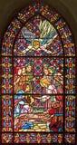 Stained-glassfenster 94 Stockfoto