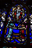 Stained Glory to God Royalty Free Stock Photography