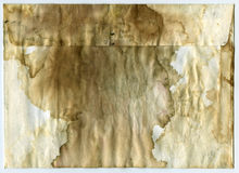 Stained grunge envelop Stock Image