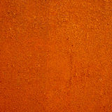 Stained metal surface. In the room Royalty Free Stock Image
