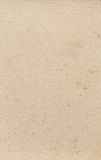 Stained old cream paper texture. By nature. Scanned with the High resolution Royalty Free Stock Photo