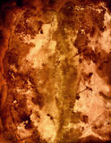 Stained paper. A highly stained and burned paper background Royalty Free Stock Photos