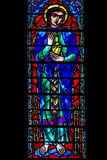 Stained Saint Mary Magdalene Stock Photography